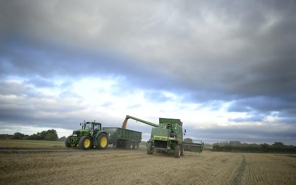 英政府は穀物の遺伝子研究にかかわる規制の緩和を進める=ロイター