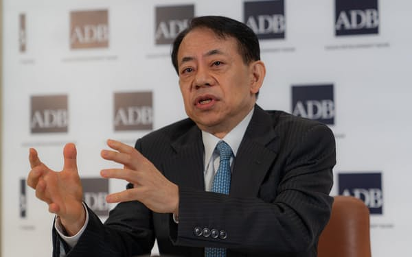 アジア開発銀行の浅川総裁(同行提供)