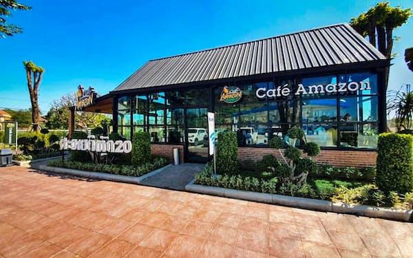 「カフェ・アマゾン」はタイ国外への出店を加速する
