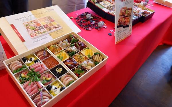 札幌丸井三越はおせちを約250商品用意する