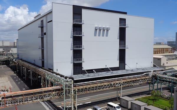 10月から本格稼働した味の素の川崎新工場