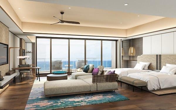 「沖縄プリンスホテル オーシャンビューぎのわん」の客室イメージ