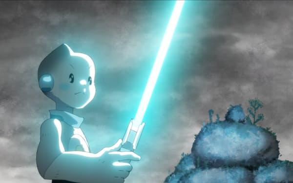 ビジョンズの第6話「T0-B1」の一場面 © 2021 TM & © Lucasfilm Ltd. All Rights Reserved.