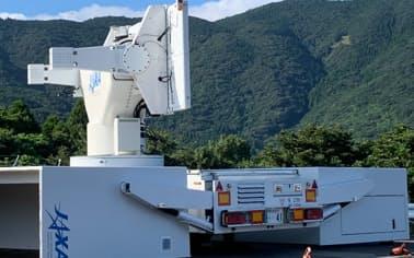 地上にあるレーダー設備の問題で打ち上げを中止した=JAXA提供