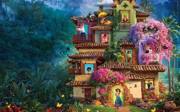 原題にない主人公の名前が邦題に入る「ミラベルと魔法だらけの家」 ©2021 Disney. All Rights Reserved.