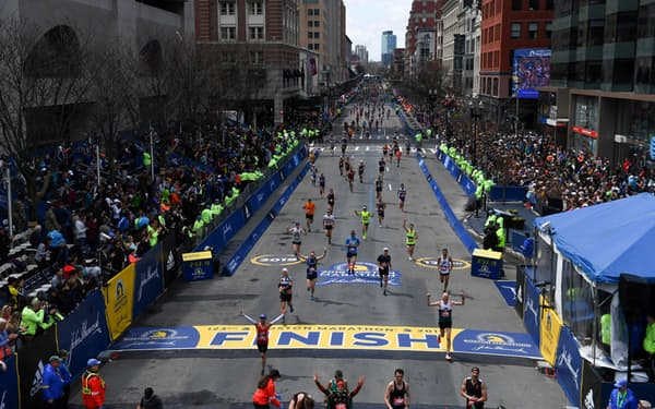 上位者にはボストンマラソン出場権が与えられる=ロイター
