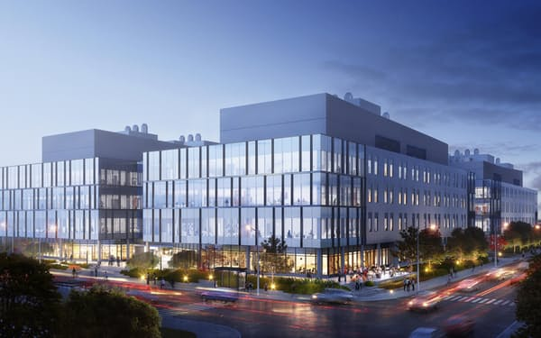 医療分野の大企業や新興企業の入居を促す(ボストンの施設イメージ)