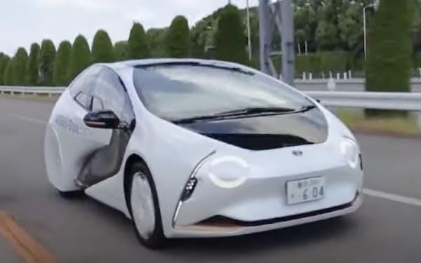トヨタが公開した全固体電池の搭載車両の映像