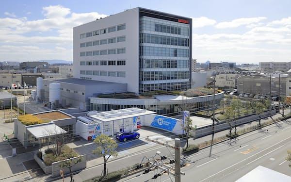 水素技術研究所は岩谷産業の中央研究所に開設した