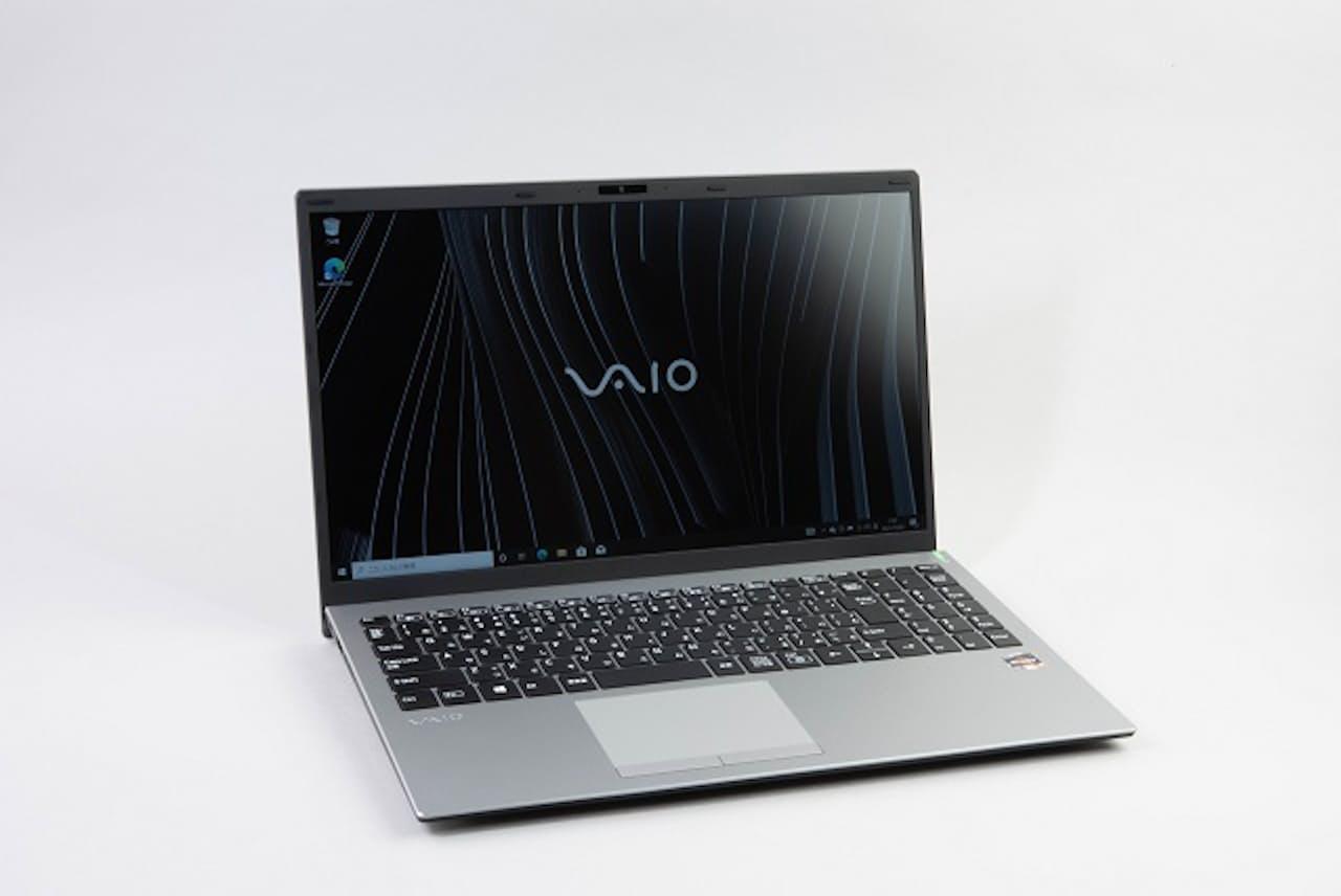 新登場のVAIO FL15はシンプルなデザインだ