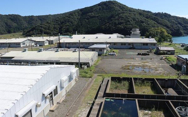 新キャンパスは小浜湾に面し、県の海洋関連施設などが集まる地域に建設する(福井県小浜市)