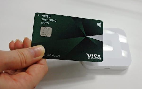 三井住友カードは年間の新規発行分の少なくとも5%がカードレスに置き換わると見ている