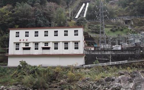 旭化成の水カ崎水力発電所