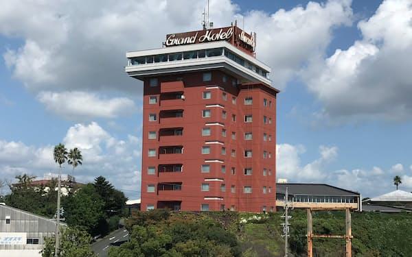 全面建て替えする磐田グランドホテル(静岡県磐田市)