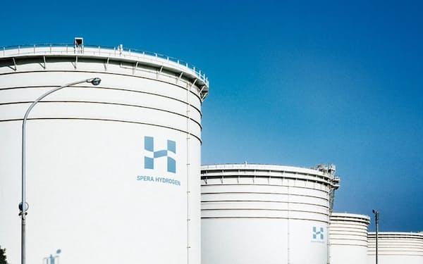 スペラ水素の貯蔵タンク(イメージ)