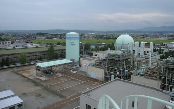 22年4月1日付で北陸電力などが出資する会社に事業譲渡される予定(金沢市のガス事業拠点)