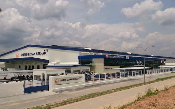王子HDはアジアで製造拠点の拡大を進めている(マレーシアの段ボール工場)