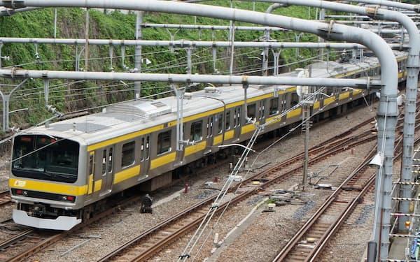 千葉県ではJR総武線沿線の市川駅、本八幡駅、船橋駅を最寄り駅とする地点の基準地価上昇が目立った