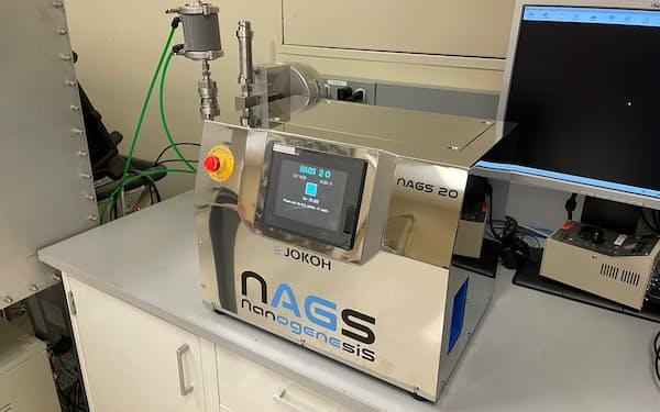 常光はナノ破砕装置をスタンフォード大内の研究所に無償提供した