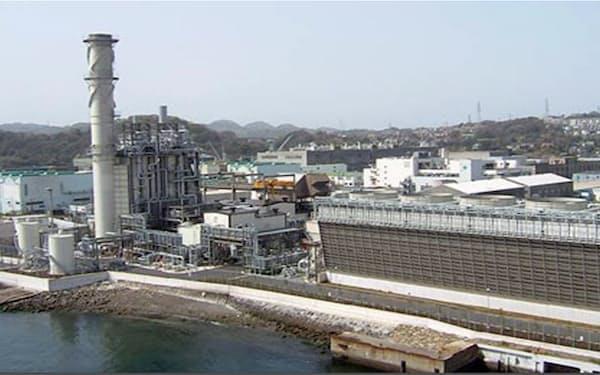 エフビットは横須賀のガス火力発電所を取得した