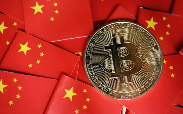 中国は9月、仮想通貨の全面的な禁止に踏み切った=ロイター