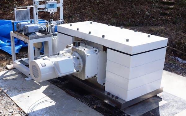 CO2を貯留した地下の様子を観測する装置
