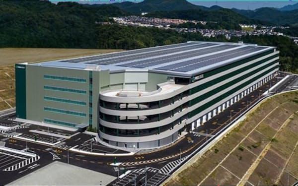 兵庫県猪名川町の新物流拠点(イメージ)