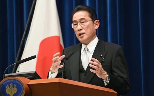 岸田首相は4日の就任記者会見で「成長と分配の好循環」を掲げた