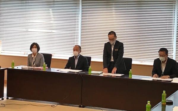 北海道は札幌市内で9月に発生した赤潮対策の会議を開いた(5日)
