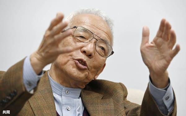 ノーベル物理学賞の受賞が決まった真鍋淑郎・米プリンストン大上席研究員=共同