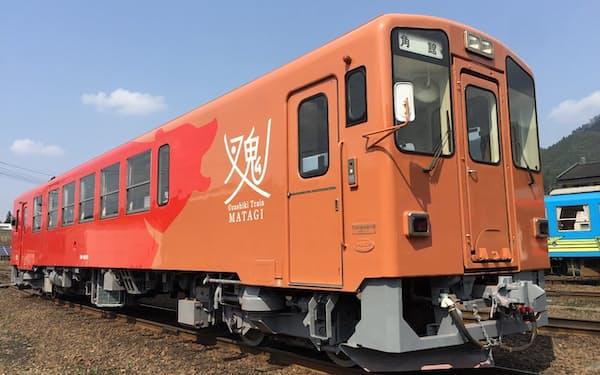 掘りごたつ式のお座敷列車「マタギ号」