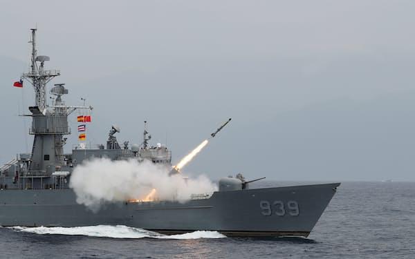 台湾は中国を念頭にミサイルの大量配備を急ぐ計画だ=ロイター