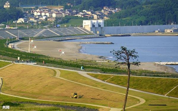 所有者不明土地問題は東日本大震災の復興の支障になったことで注目された(岩手県陸前高田市)