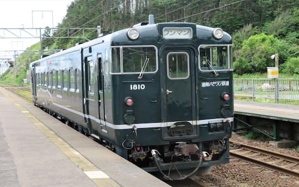 道南いさりび鉄道のほか、青森県内のローカル線巡りを楽しめる