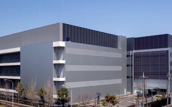 富士通はクラウドサービスを重点注力分野の一つと位置づけている(同社のデータセンター)