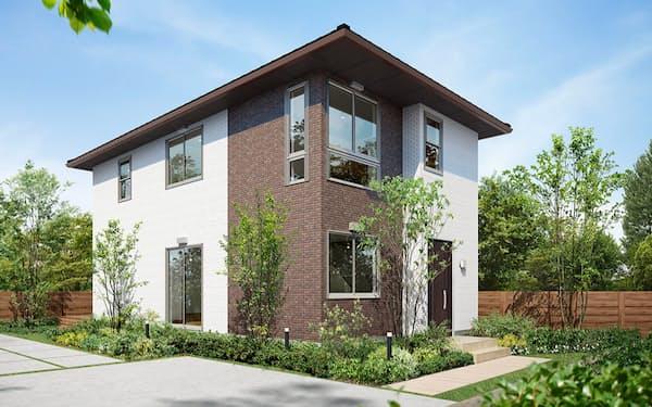 ニュージーランドで展開する住宅のイメージ