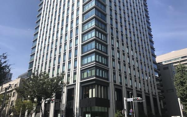 名古屋のオフィス空室率が上昇している(名古屋市中区の「広小路クロスタワー」)