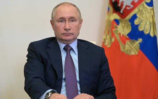 欧州向けに供給を増やす用意があるとのロシアのプーチン大統領の発言が伝わった=AP