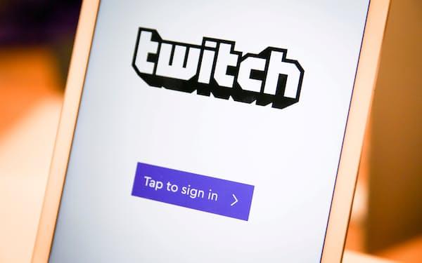 アマゾン傘下のゲーム実況配信サービス「ツイッチ」は1日に平均3000万人超が利用するとされる=ロイター
