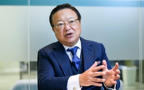 日本M&Aセンターホールディングスの三宅卓社長