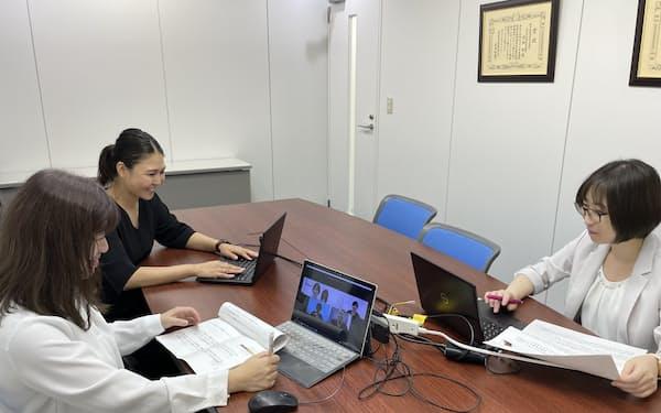 土木管理総合試験所は社内プロジェクトを立ち上げ、女性活躍に取り組む