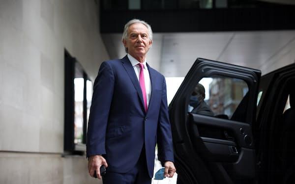 ブレア元英首相ら多くの著名人が租税回避地利用を示す新文書の「パンドラ文書」に記載されていた=ロイター