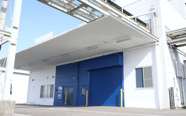 エレファンテックがプリント基板を製造する名古屋の施設