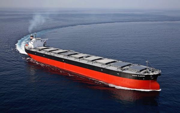 ケープサイズはコロナ禍のあおりで船不足が続く