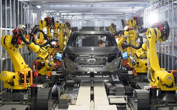 日産は栃木工場に代替燃料の発電設備を導入し、50年に製造時CO2排出ゼロを目指す