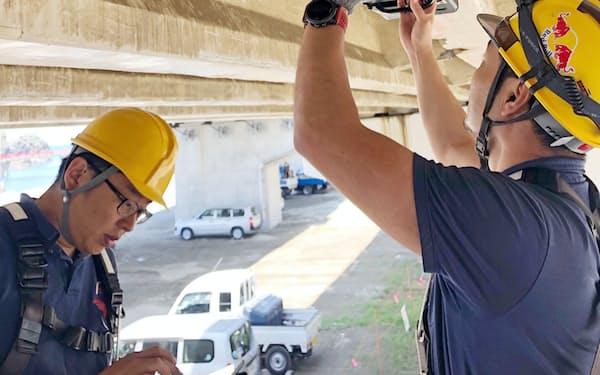 AIと磁気でコンクリート橋の老朽化を測定する