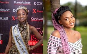 アフリカの女性が好むヘアエクステ用素材として大ヒットした「カネカロン」=カネカ提供