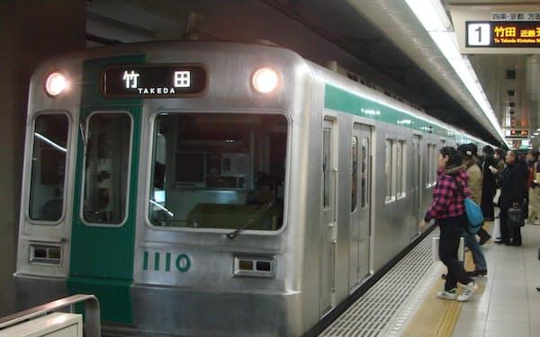 運賃値上げが避けられない京都市営地下鉄