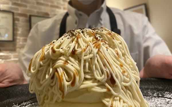金沢の伝統的なサツマイモ「五郎島金時」を使った北陸限定パンケーキ