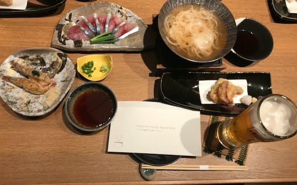 「米子はしご酒」は1店当たり2千円でフード3品とドリンク1杯が基本メニュー